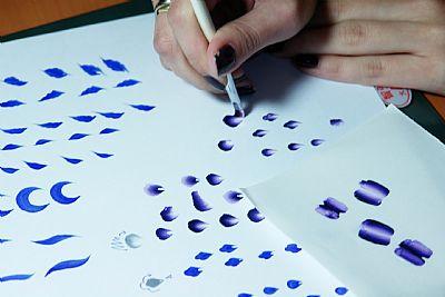 的画法,玉兰花瓣的画法,花瓣的画法,国画梅花花瓣的 .