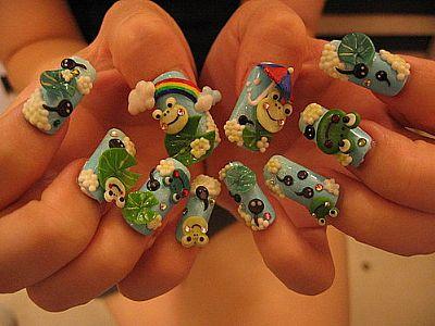 nails 美甲学苑 - 美甲比赛,创意美甲,nails美甲杯图片